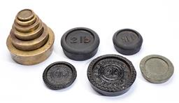Sale 9130E - Lot 65 - Collection of scale weights