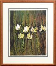 Sale 8286 - Lot 600 - Sidney Nolan (1917 - 1992) - Wildflowers 55 x 44.5cm