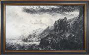 Sale 8449A - Lot 574 - Paul Ryan (1964 - ) - The Beach at Scarborough, 1990 76.5 x 135cm