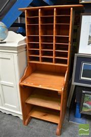 Sale 8480 - Lot 1160 - Modern Pidgeon Hole Unit