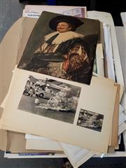 Sale 8674 - Lot 2022 - 3 Folios of Art Posters & a Roll of Art Posters