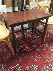 Sale 8724 - Lot 1012 - Danish Rosewood Foldover Tea/Drinks Trolley with Removable Tray