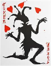 Sale 8716 - Lot 2064 - Mark Hanham (1978 - ) - Love Juggler 45 x 35cm (framed & ready to hang)