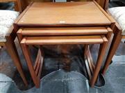 Sale 8801 - Lot 1035 - G Plan Teak Nest of Tables