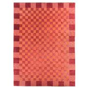 Sale 8830C - Lot 33 - An Indian Checkerboard Design in Handspun Wool 400x300 cm