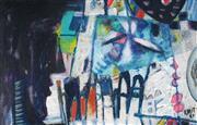 Sale 9067 - Lot 575 - Michael Kmit (1910 -1981) - Untitled, 1960 33 x 50 cm (frame: 45 x 63 x 4 cm)