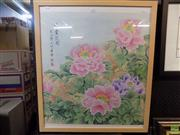 Sale 8561 - Lot 2077 - Chinese School - Chrysanthemums 77 x 68xm