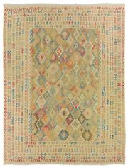 Sale 8725C - Lot 71 - An Afghan Maymana Kilim Carpet, Hand-knotted Wool, 368x295cm RRP $3,975