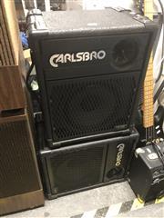 Sale 8789 - Lot 2200 - Pair of Carlsbro Speakers