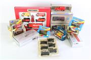 Sale 8985 - Lot 51 - A Group Of Matchbox And Other Boxed Cars Incl Corgi
