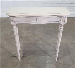 Sale 9191 - Lot 1069 - French style hall table (h:77 x w:78 xd:32cm)