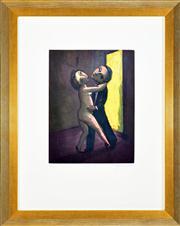 Sale 8344 - Lot 539 - Garry Shead (1942 - ) - Tango II 29.5 x 22.5cm