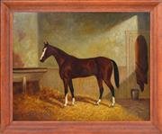 Sale 8358 - Lot 579 - Frederick Woodhouse (1820 - 1909) - Jack Shepherd, 1889 52 x 66cm