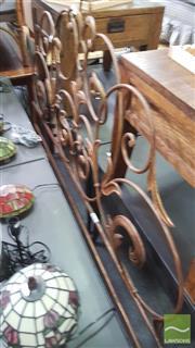 Sale 8390 - Lot 1545 - Italian Metal Bedhead by Palladio