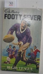 Sale 8418S - Lot 30 - CADBURY FOOTY FEVER RUGBY LEAGUE, History of the Game in Australia Published in 1981 in Sydney.