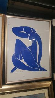 Sale 8433 - Lot 2055 - Matisse Print