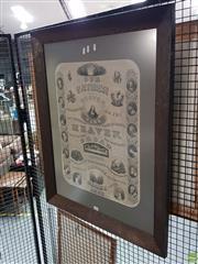Sale 8619 - Lot 2088 - Framed Religious Print