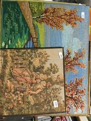 Sale 8674 - Lot 2085 - 7 Tapestries, 43x35cm