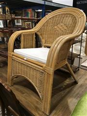 Sale 8851 - Lot 1078 - Single Cane Chair