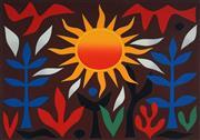 Sale 9047 - Lot 528 - John Coburn (1925 - 2006) - Sun in the Garden, 1989 53 x 74 cm (frame: 78 x 97 x 3 cm)