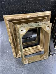 Sale 8878 - Lot 2077 - Collection of Gilt Frames