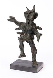 Sale 8994H - Lot 92 - Adam Cullen - Small Troll 2011 30 x 17 x 11cm
