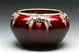 Sale 9144 - Lot 24 - Sang De Boeuf Chinese bowl (Dia:25cm)