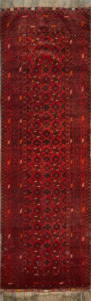 Sale 8345C - Lot 59 - Afghan Qunduzi 280cm x 82cm