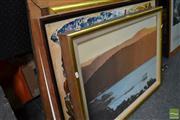 Sale 8464 - Lot 2035 - Group of (5) Original Artworks by Rod McMahon(2), Winston Fry, Gordon Tuck & Barbara Stockill, framed, various sizes