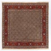 Sale 8790C - Lot 75 - An Iranian Mood Rug, Khorasan Region, Very Fine Wool And Silk Pile., 200 x 200cm