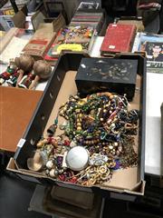 Sale 8819 - Lot 2410 - Box Of Costume Jewellery