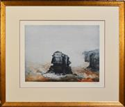 Sale 8301A - Lot 45 - Jorg Schmeisser (1942 - 2012) - Untitled, 1988 (Seascape) 47 x 61cm