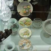 Sale 8306 - Lot 37 - Japanese Satsuma Dishes (4)