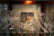 Sale 8327 - Lot 84 - Oreffors Champagne Flutes & Other Glassware incl Fish Form Dish