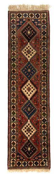 Sale 8715C - Lot 155 - A Persian Kashqai, Salameh, 100% Wool Pile Classed As Tribal Rugs, 290 x 79cm