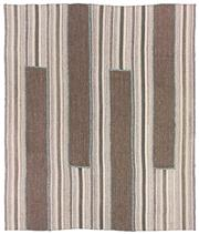 Sale 8725C - Lot 74 - A Persian Mazandaran Flatweave, Hand-knotted Wool, 300x257cm, RRP $7,000