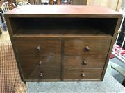 Sale 8817 - Lot 1078 - Timber Apprentice Chest Of Six Drawers