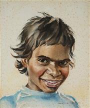 Sale 9001 - Lot 595 - Helen Baldwin (1912 - ?) - Emma Nakamara 34.5 x 29 cm (frame: 53 x 46cm )
