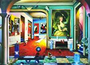 Sale 9072A - Lot 5048 - Fernando de Jesus Oliveira (1946 - ) - Untitled 87 x 121 cm (90 x 125 cm)