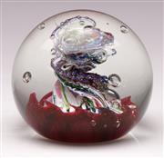 Sale 9078 - Lot 195 - A Scottish paperweight, Caithness II with twister motif,