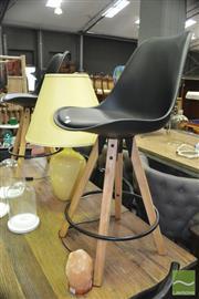 Sale 8440 - Lot 1035 - Pair of Modern barstools
