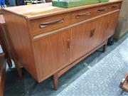 Sale 8741 - Lot 1019 - G Plan Fresco Teak Sideboard