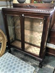 Sale 8822 - Lot 1839 - Timber and Glass Display Cabinet