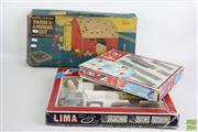 Sale 8490 - Lot 227 - Lima Train Set With A Vintage Toy Farm