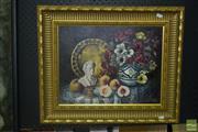 Sale 8522 - Lot 2035 - G.Gaeia, Still Life Oil on Board SLR, Sydney 2000