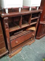 Sale 8585 - Lot 1701 - Cedar Chest of Drawers with Parts