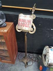 Sale 8601 - Lot 1002 - Brass Music Stand with Lamp incl. Book on the Movie