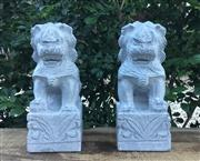 Sale 8772A - Lot 70 - A Carved Stone Foo Dog Size 25cm H x 14cm W x 10cm General Wear Some Chipping