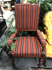 Sale 8822 - Lot 1254 - Fabric Upholstered Armchair