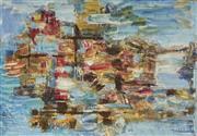 Sale 9084 - Lot 507 - Eric Smith (1919 - 2017) - Awakening 58 x 84 cm (frame: 72 x 98 x 3 cm)